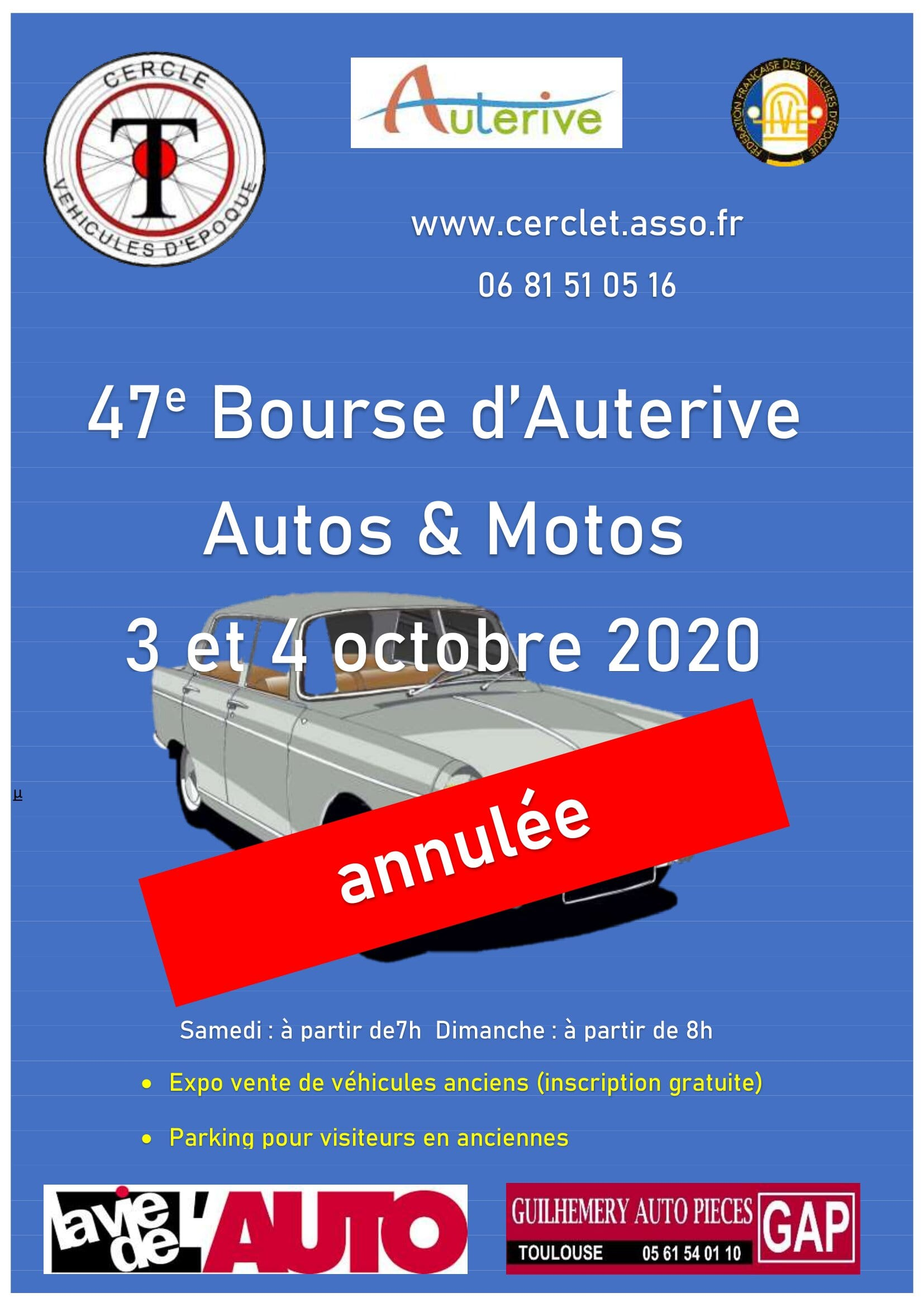 Flyer A5 Auterive ANNULEE